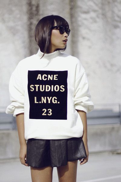SWEATER: http://www.glamzelle.com/collections/sweaters/products/acne-beta-double-logo-sweater