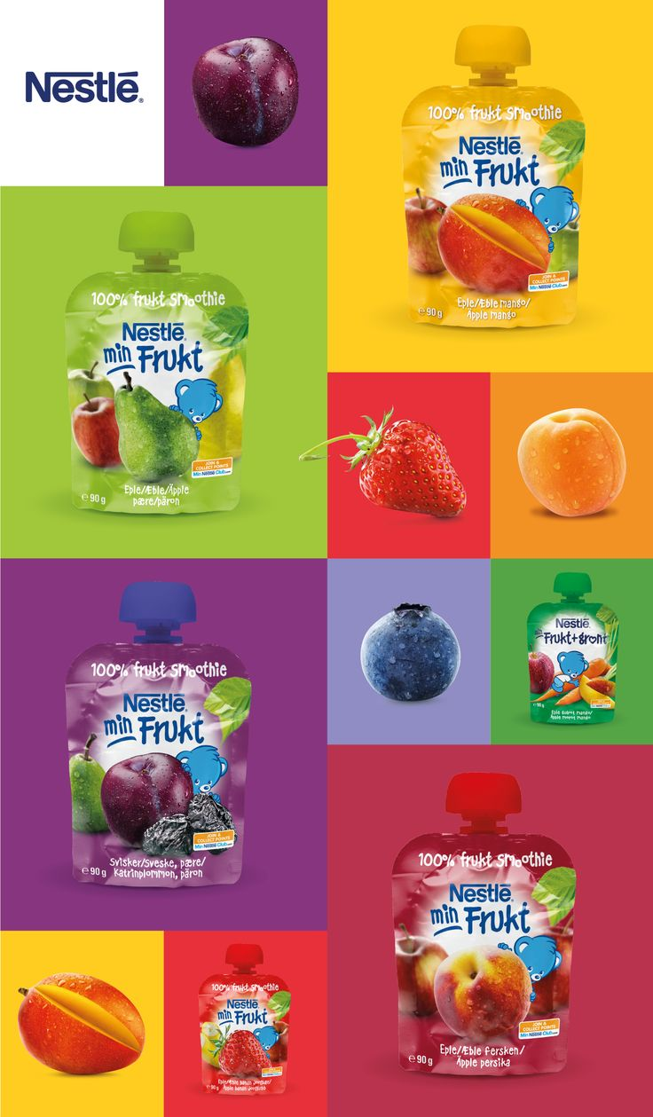 Nestlé Baby Food - In Between Meal See more cases at https://www.behance.net/IDnagroup