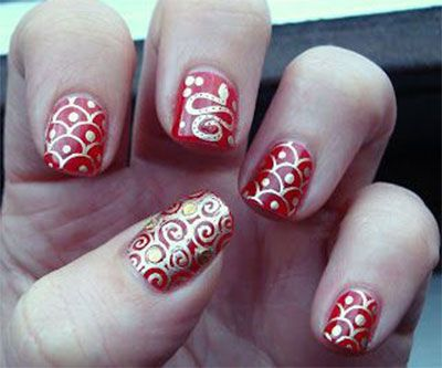 111 best chinese new year nail art inspiration images on pinterest amazing chinese new year nail art designs ideas 2014 prinsesfo Choice Image