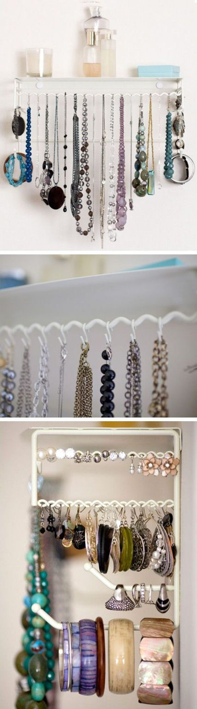 Hanging Jewelry Organizer Set