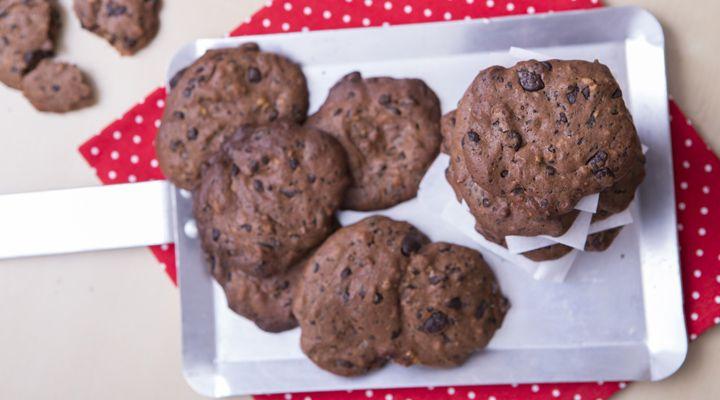 Νηστίσιμα Cookies σοκολάτας