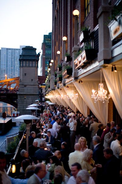 Fulton's on the River - Chicago Love this for the reception, minus the river smell...