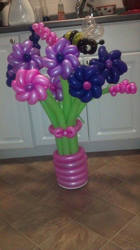 451 best images about balloons on pinterest for Balloon arrangement ideas