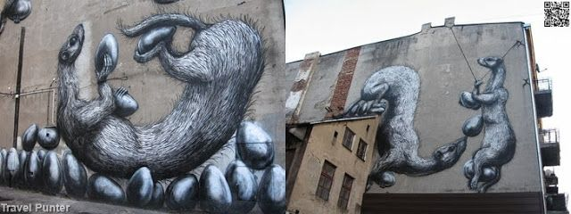 Street Graffiti in #Poland' - Łódź
