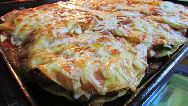 BEEF ENCHILADAS STACK - Moore or Less Cooking Food Blog