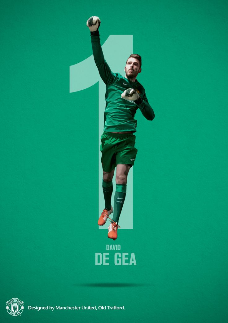 @manutd's number 1, David De Gea.