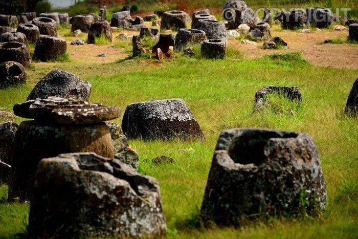 Jar Ruins - Plain of Jars, Phonsavan