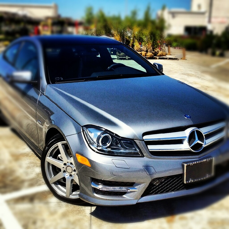 Our 2012 Mercedes C350 Coupe 4MATIC.