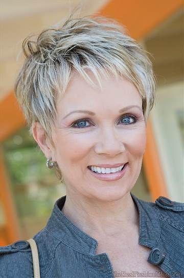 Image result for Senior Hairstyles Short Hair