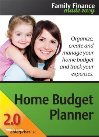 Home Budget Planner 2.0 allows you to create, manage, and track your budget. Create and manage your budget and track your spending using 13 top-level income and expense categories and over 110 allowable budget items. With our redesigned and enhanced user interface it's easier than ever to create your budget and track your spending. The new Fill and Add features give you full control and quick, easy data entry capability. Price: $18.00 Your #1 Source for Software and Software Downloads