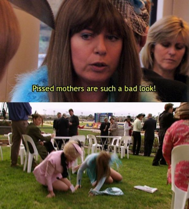"Melbourne Cup day can turn the best of us into a mess. | 19 Times ""Kath And Kim"" Summed Up Life As An Australian"