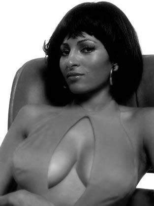 """Pam"" Grier (born 5/26/49) became famous in the early 70s from starring in prison & blaxploitation films (Most Famous 1974's Foxy Brown). Her career was reborn in 1997 from her role in Quentin Tarantino's film Jackie Brown"