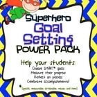 Goal Setting Power Pack - Help your students choose SMART goals and reach them!