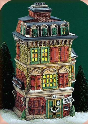 retired department 56 halloween houses