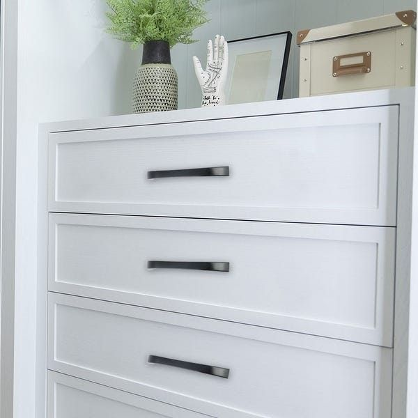 Shop Cabinet Handles Drawer Pulls 5 Hole Center Zinc Alloy