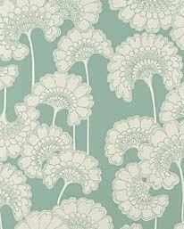 Japanese Floral Sage från Signature Prints
