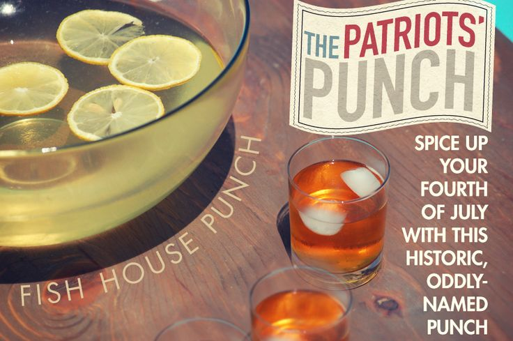 fish house punch recipe dishmaps party like a patriot with fish house ...
