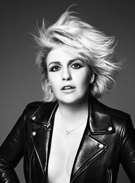 Лина Данэм — Фотосессия для «Elle» 2015