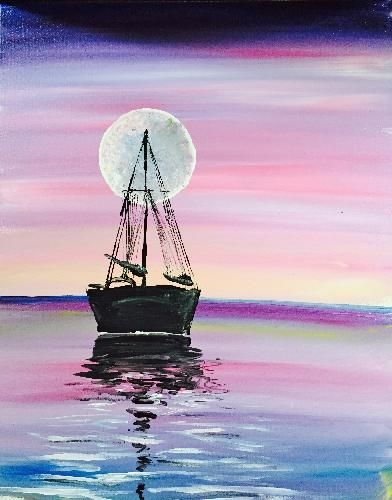 Paint Nite Capecod | Waterfront Bar and Grill July 27