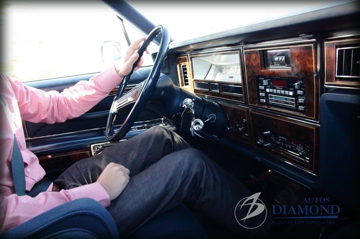 Ford Lincoln Continental. Asiento del piloto.