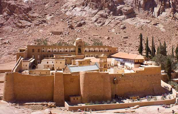 worth the trip......Saint Catherine's monastery and Mount Sinai in Egypt.