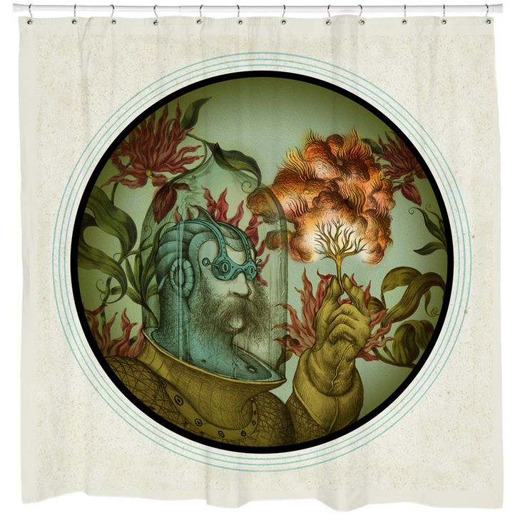 Caliope Shower Curtain