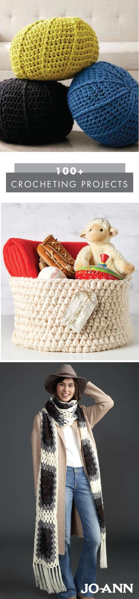 Why buy it when you could make it yourself? This collection of 100+ Crocheting Projects has all the craft tutorials you need to learn how to make everything from home decor to outfit accessories. Intermediate crocheters will especially love how unique each homemade piece is.