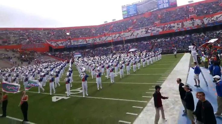 Gator Marching Band with Google Glass (Drum Major's POV of the pre-show at the 2013 UF-FSU game)