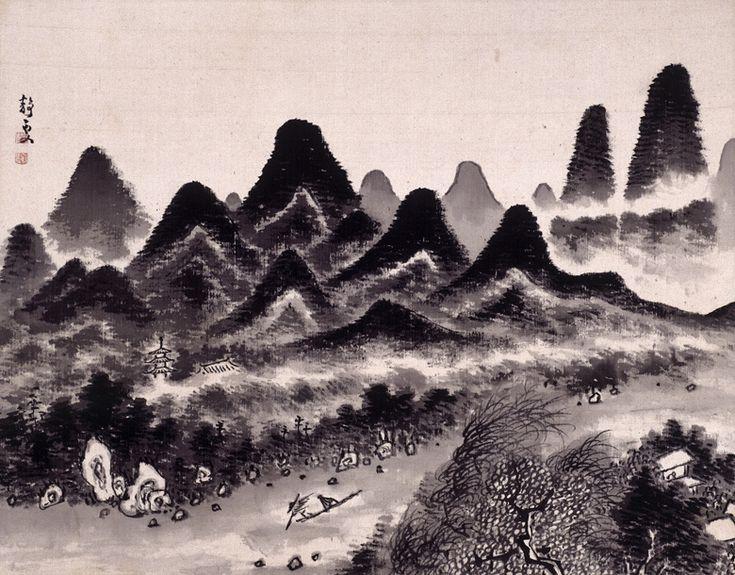 Fukuda Kodojin 福田古道人 (1865-1944), from White Cloud Album and Colored Cloud Album.