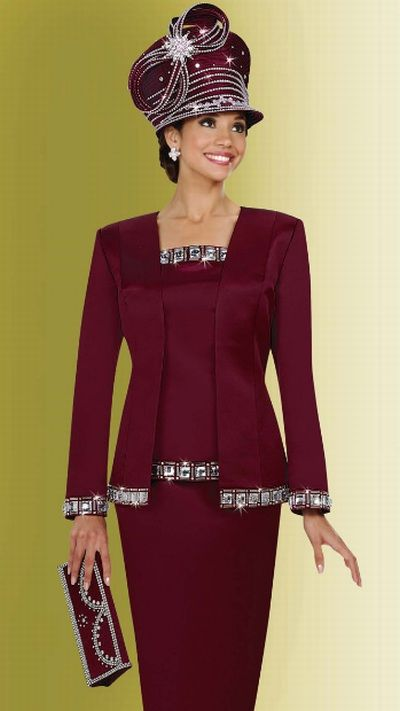Ben Marc International Womens Church Suit 4635