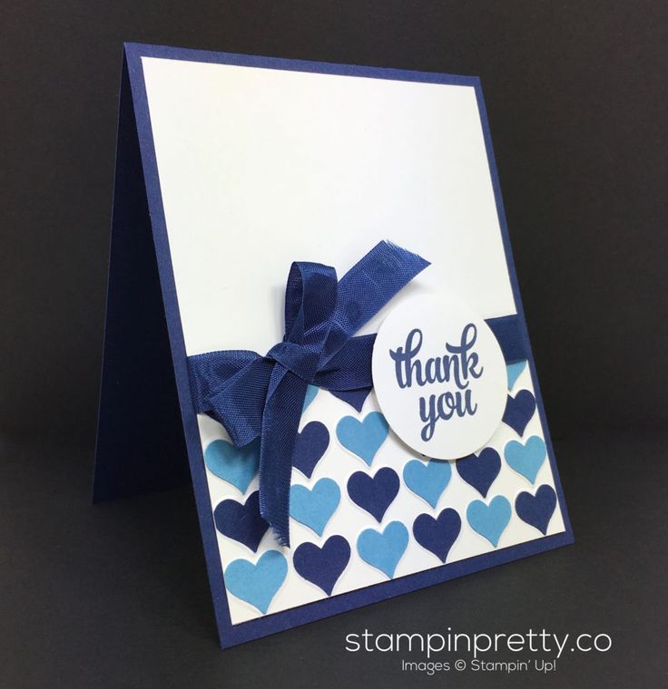 A happy heart thank you card inspired by a Brighton bag. Simple & pretty hand stamped cards & ideas daily. Order Stampin' Up! On-Line.
