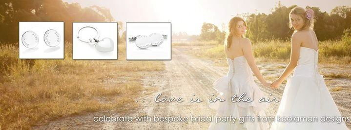 Celebrate with bespoke bridal gifts from koolaman designs.