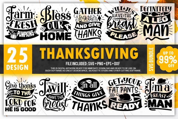 Thanksgiving Svg Bundle Fall And Pumpkins Svg Bundle Thanksgivingsvgbundlefall Fallbundlesvg Autumnbundlesv In 2020 Thanksgiving Quotes Graphic Design Resources Svg
