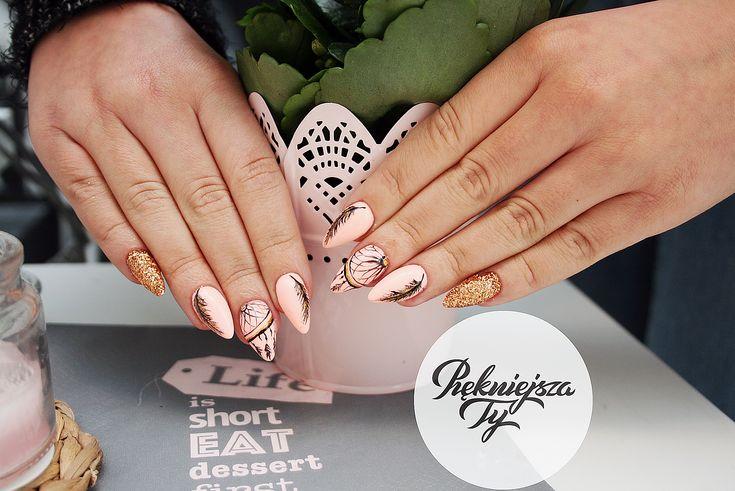 #manicure #hybryda #spring