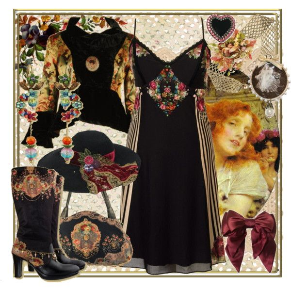 michal negrin by merirous on Polyvore featuring mode, Finders Keepers, Michal Negrin, CO, Retrò, TIARA, Tarina Tarantino and BasicGrey