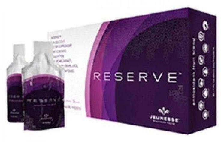 RESERVE™ é exclusivo blend à base de romã, mirtilo, uva, cereja e açaí. Possui um delicioso sabor de frutas e não contém adição de açúcar.  Compacto, fácil de abrir e levar na bolsa. Tem alro nível de resveretrol.  RESERVE™ possui diversos nutrientes para uma vida saudável.    Delicioso gel rico em resveretrol, antocianinas e ácidos graxos essenciais;  Projetado para fornecer suporte ao sistema imunológico  Protege as células dos danos do envelhecimento prematuro;