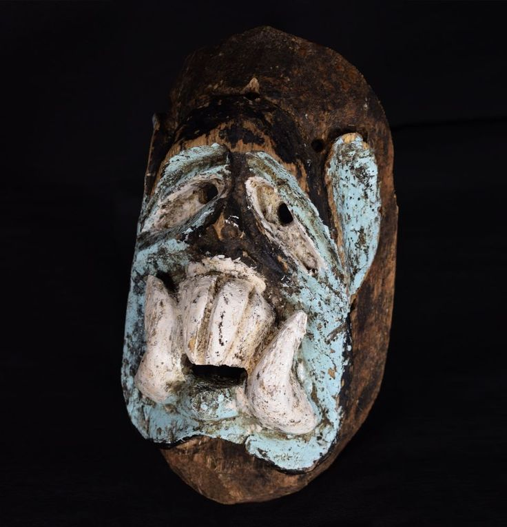 Early Nyau Mask - CHEWA - Zambia, Katete District