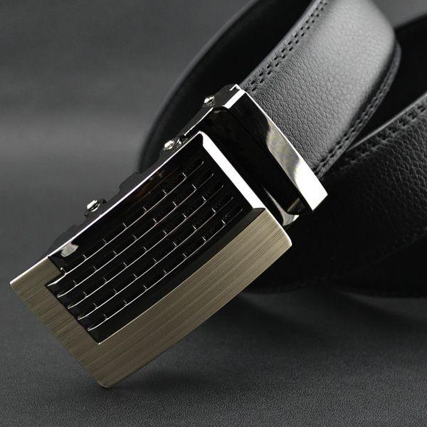 Neueste Designer Gürtel Männer Hohe Qualität Echtes Leder Berühmte Marke S Gold Silber Automatische Schnalle Gürtel Hüftgurt Männlichen