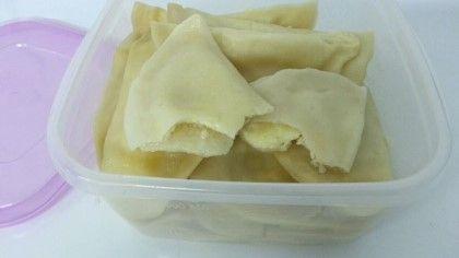 러시아 음식: 치즈 만두(Пельмени с сыром)