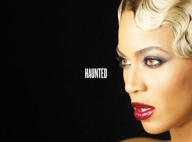 "Beyoncé - Visual Album Digital Booklet for BEYONCE (2013) ""Haunted"""