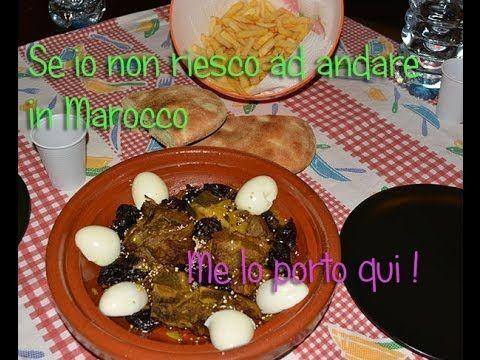 [Le Ricette] Tajine Marocchino con le Prugne