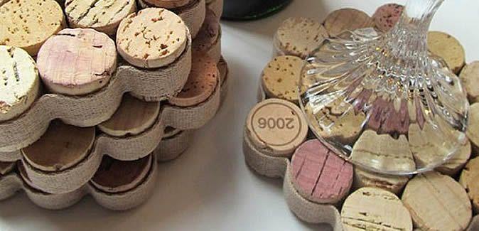 DIY kurk ideeën hergebruik wijnkurken