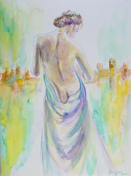 Venus 1-Watercolor