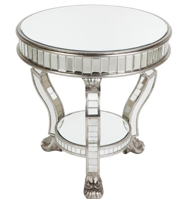 Mirrored Coffee Table Melbourne: Bevelled Elegance Occasional Table From Misconstrued