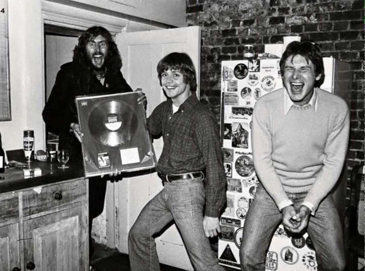 Eric Idle, Mark Hamill and Harrison Ford | Rare, weird & awesome celebrity photos