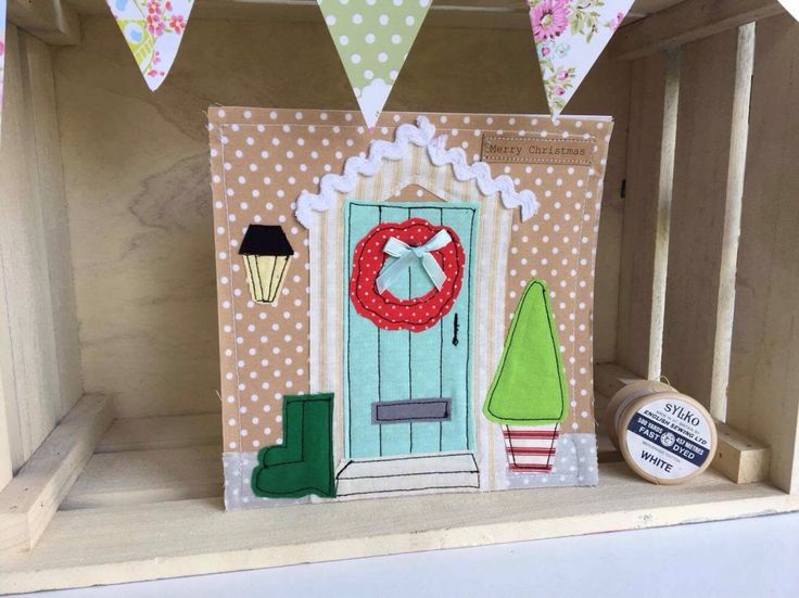 A personal favourite from my Etsy shop https://www.etsy.com/uk/listing/547879148/handmade-christmas-cottage-door
