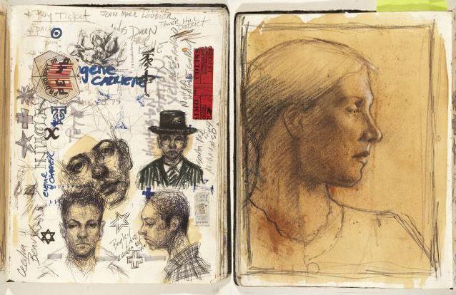 H. Craig Hanna Sketchbooks
