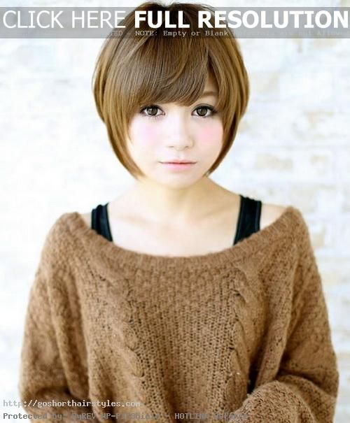 Cute Short Asian Hairstyles 2016 Round Face Anese