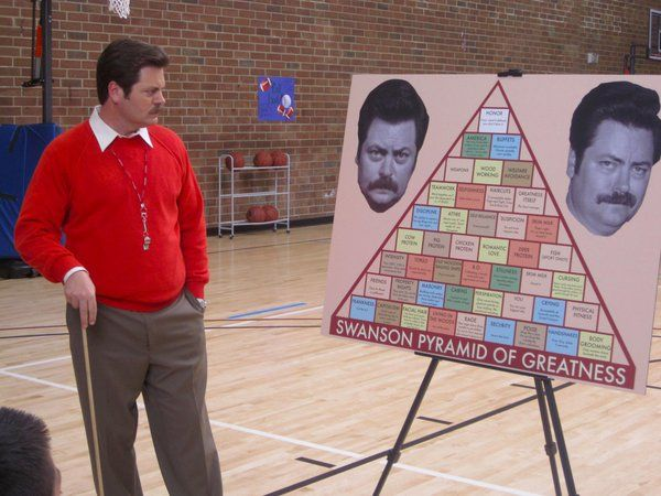 """32 Behind-The-Scenes Photos From """"Parks And Rec"""" That May Make You Cry"""