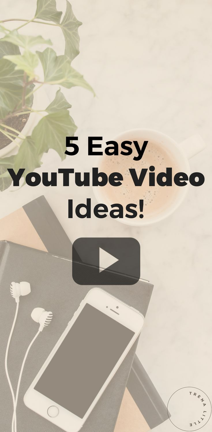 5 first video ideas you can use for your first YouTube video or inspire you for your next YouTube video idea. - Learn how I made it to 100K in one months with e-commerce!